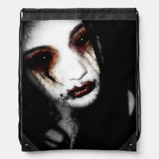 Falln Angel of Loss Drawstring Bag