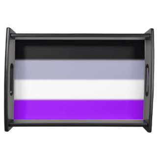 Falln Asexual Pride Flag Serving Tray