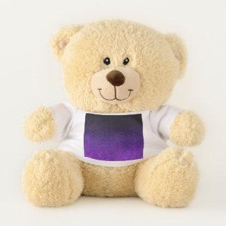 Falln Color & Black Glitter Gradient Teddy Bear