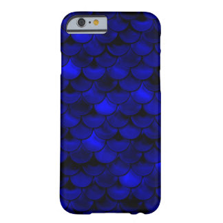 Falln Dark Blue Mermaid Scales Barely There iPhone 6 Case