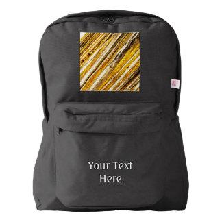 Falln Shimmering Gold Foil Backpack