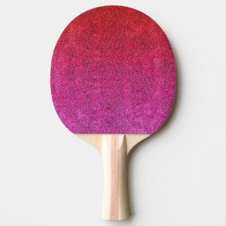 Falln Valentine Glitter Gradient Ping Pong Paddle