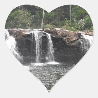 Falls of the Cheat Heart Sticker