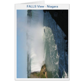 Falls View : Niagara USA Canada Card