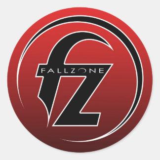 Fallzone 3inch sticker