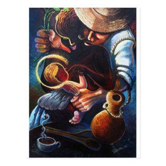 familia2amodern art latin postcard