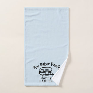 Family Camper hand towel