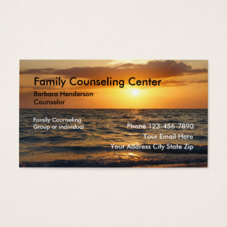 1000 counseling business cards and counseling business for Family business cards