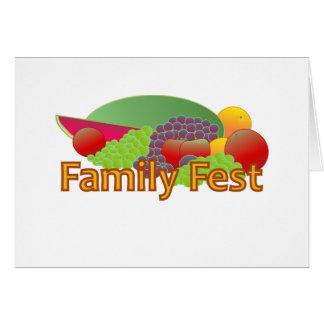 Family Fest Invitation