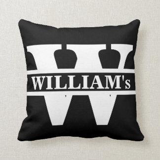 Family Monogram Initial Personalised Cushion