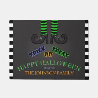Family Name: Trick Or Treat Halloween Door Mat