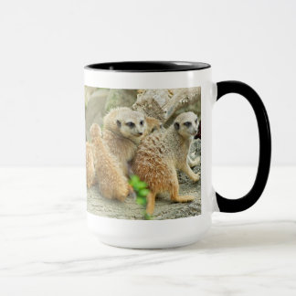 Family of meerkats - Mug