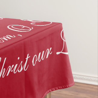 Family Prayer Tablecloth