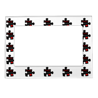 Family Puzzle Magnetic Frame