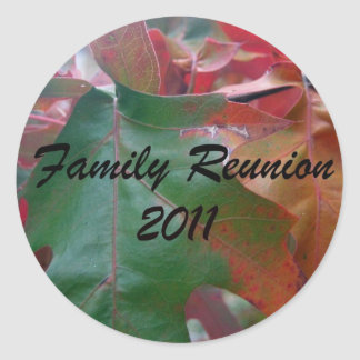 Family Reunion 2011 Stickers