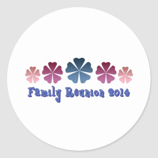 Family Reunion 2014 Stickers