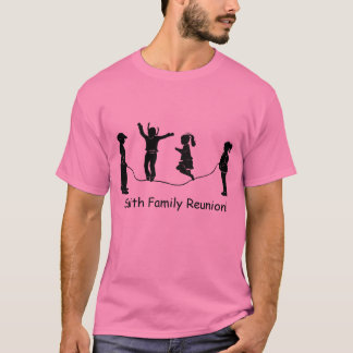 Family Reunion Jump Roping t-shirt