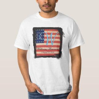 Family Reunion USA Flag T-Shirt