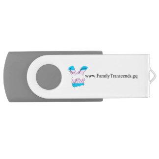 Family Transcends Flash Drive Swivel USB 2.0 Flash Drive
