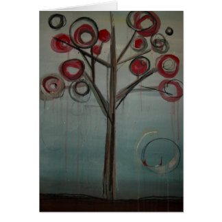 Family Tree Greeting Card by Kim Anderson Art