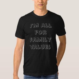 Family Values Drk Tee Shirts