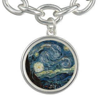 Famous art, Starry Night by Vincent van Gogh.