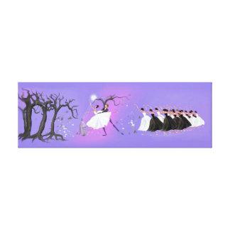 FAMOUS BALLET GISELLE, SPIRIT OF LOVE DANCE CANVAS