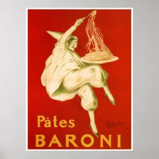 Famous Leonetto Cappiello Italian pasta ad Posters