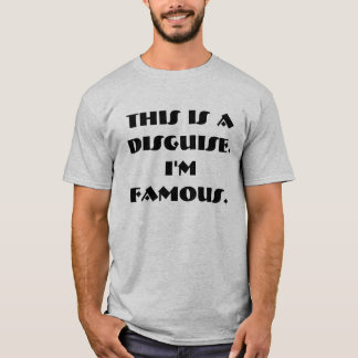 Famous Person Costume T-Shirt