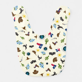 Famous Texas items- the lone star state Baby Bibs