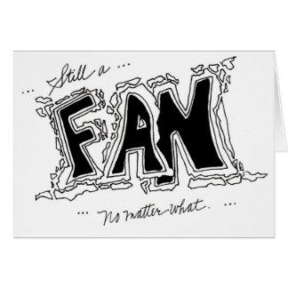 Fan loyalty card