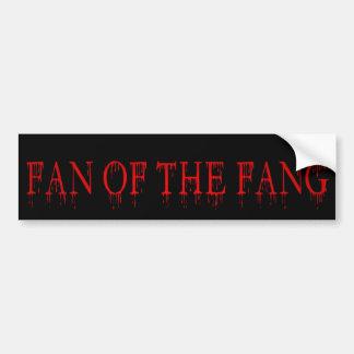 fan of the fang bumper stickers