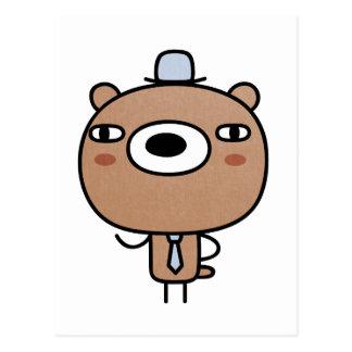 Fancy Bear Postcard