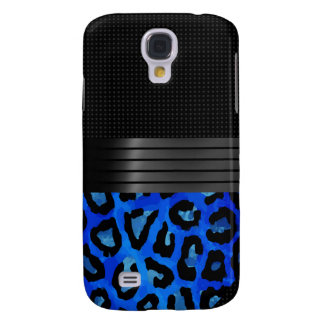 Fancy Black Cheetah Abstract Galaxy S4 Case