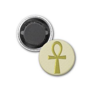Fancy Gold Ankh Magnet