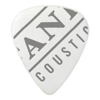 Fane Acoustics Guitar Plectrum design 2 Acetal Guitar Pick