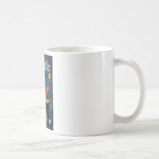 Fantastic - 1959.08_Pulp Art Basic White Mug