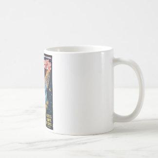 Fantastic Adventures 013_Pulp Art Basic White Mug
