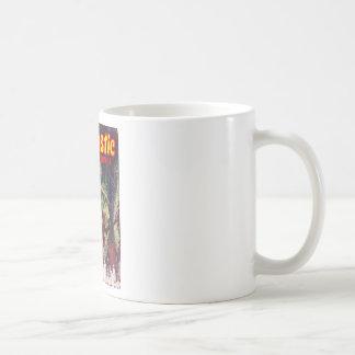 Fantastic Adventures Apr 1948_Pulp Art Basic White Mug