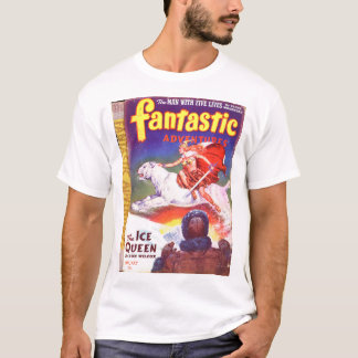 Fantastic Adventures v05 n01 (1943-01.Ziff-Davis)_ T-Shirt