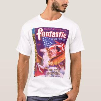 Fantastic Adventures v05 n08 (1943-08.Ziff-Davis)_ T-Shirt
