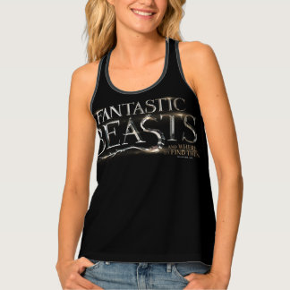 Fantastic Beasts And Where To Find Them Logo Singlet