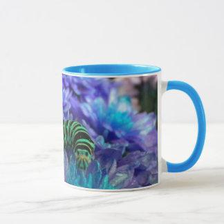 Fantasy Caterpillar N Flowers Mug