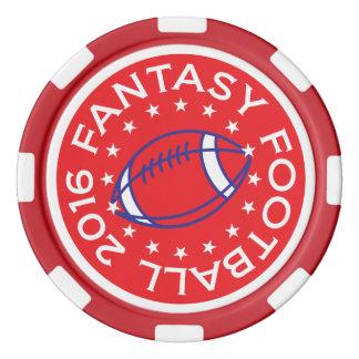 Fantasy Football 2016 poker chips