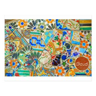 Fantasy. Gaudi. Picture 2 Postcard