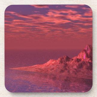Fantasy Landscape - Mountains at Dawn Coaster