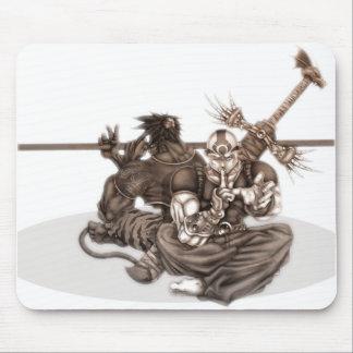 Fantasy Manga Warriors Mouse Pad