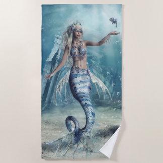 Fantasy Mermaid Beach Towel