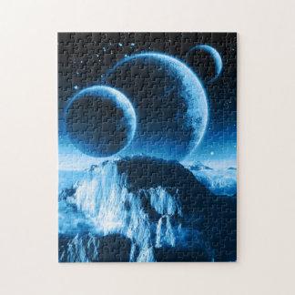 Fantasy Planets Puzzle
