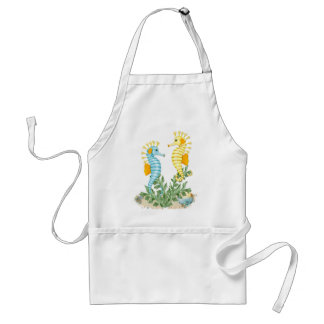 Fantasy Seahorse and Bling Standard Apron